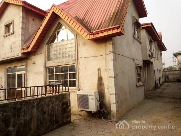 Four Bedroom Duplex with Two Unit of Three Bedroom, Isheri, Egbeda, Alimosho, Lagos, House for Sale