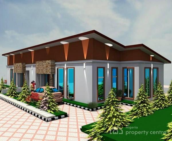 3 Bedroom Custom Finished Bungalow Off Plan, Magboro, Ogun, Semi-detached Bungalow for Sale