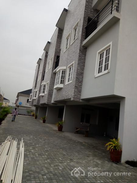 4 Bedroom Terrace Duplex (newly Built), Gbangbala Street, Ikate Elegushi, Lekki, Lagos, Terraced Duplex for Sale