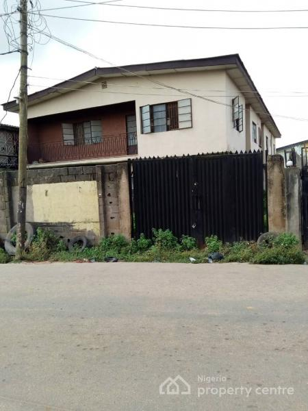 Building of Four Units of Three Bedrooms, Akowonjo, Alimosho, Lagos, Block of Flats for Sale