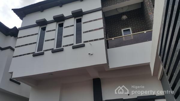 Brand New 4 Bedroom Terrace Duplex, Beside Chevron Tollgate, Chevy View Estate, Lekki, Lagos, Terraced Duplex for Rent