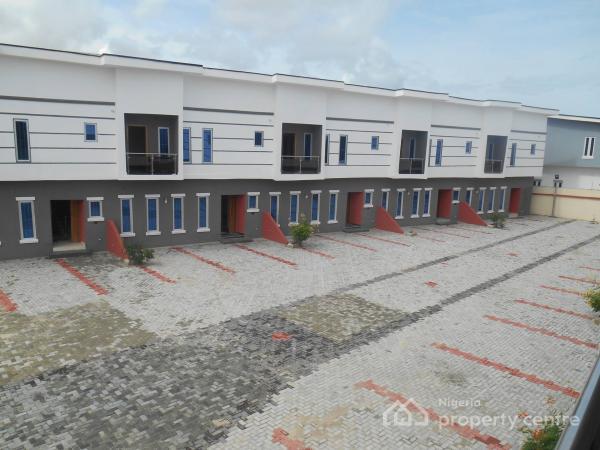 3 Bedroom Terrace Duplex with Bq on Lekki Conservation Park Road, Lekki Conservation Park Road, Opposite Chevron Head Office, Lafiaji, Lekki, Lagos, Terraced Duplex for Sale