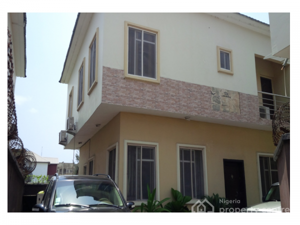 5 Bedroom Fully Detached House with 1 Room Steward Quarters, Wojuara Durosinmi Street, By Chevron Toll Gate, Lekki Expressway, Lekki, Lagos, Detached Duplex for Sale