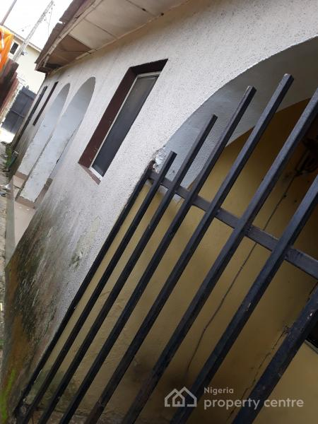Fenced and Gated Old Building That Consist of 1 Unit of 3 Bedroom Apartment, 1 Unit Room and Parlour Apartment, Fidiso Opposite Kingdom Hall, Sangotedo, Ajah, Lagos, Detached Bungalow for Sale