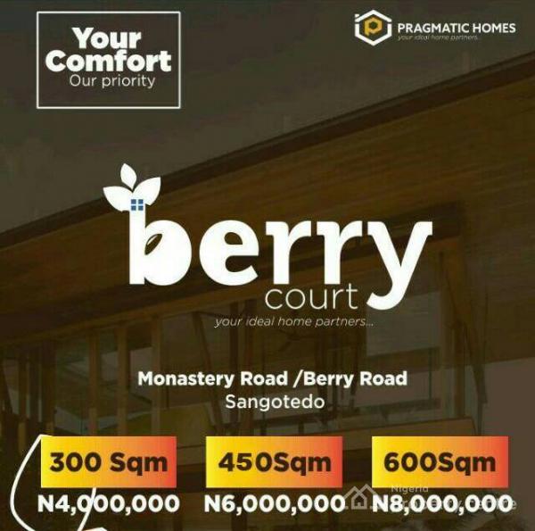 Berry Court, Sangotedo, Ajah, Lagos, Residential Land for Sale