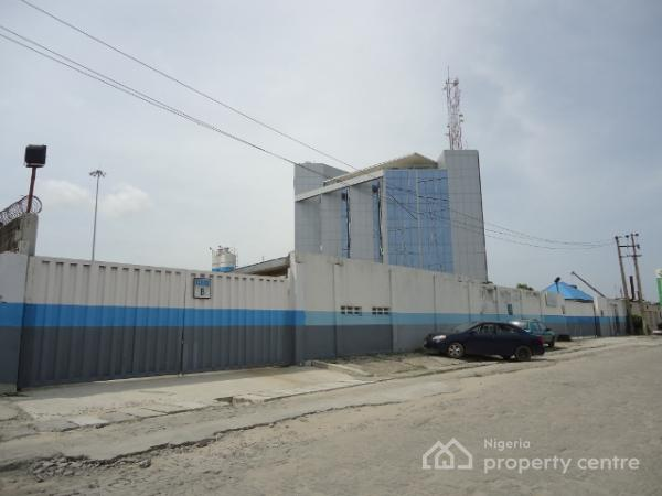4100sqm Fenced Land, Landbridge Avenue, Beside Diamond Bank Head Office, Oniru, Victoria Island (vi), Lagos, Commercial Land for Sale