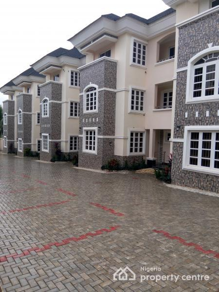 Brand New Tastefully N Lavishly Finished 5 Units of 4 Bedroom  Terrace House, with Bq, Pool, Massive Compound, Wuse2, Wuse 2, Abuja, House for Rent