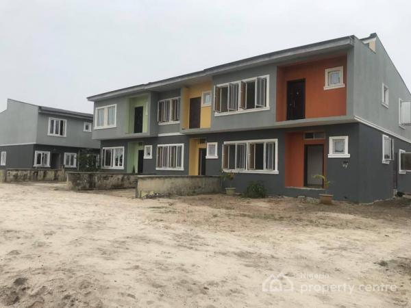 Luxury 4 Bedroom Duplex, Wealthland Green Estate, Oribanwa, Lekki, Oribanwa, Ibeju Lekki, Lagos, Terraced Duplex for Sale