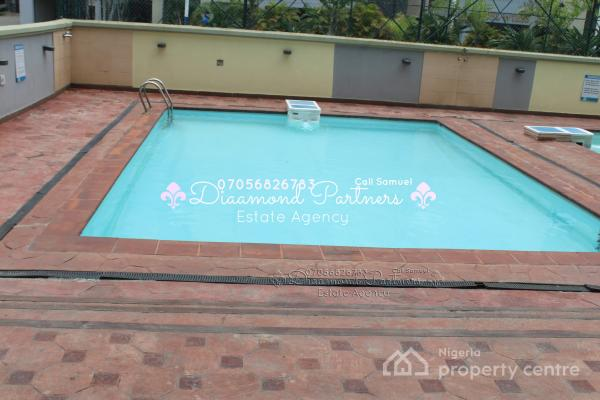 3 Bedroom Serviced 24hr +pool Light Flat, Off Admiralty Way, Lekki Phase 1, Lekki, Lagos, Flat for Rent