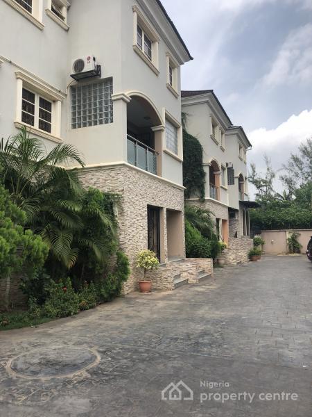 Lovely 3 Bedroom Terrace House, Utako, Abuja, Terraced Duplex for Rent