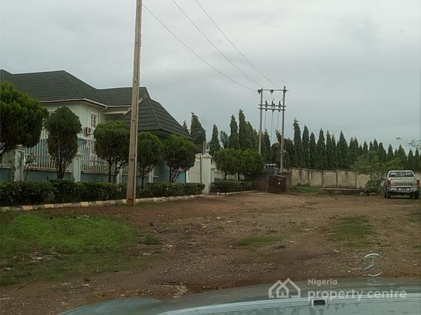 2600sqm Land with C of O for Quick Sales, By N N P C Filling Station, Before American International School, Durumi, Abuja, Residential Land for Sale