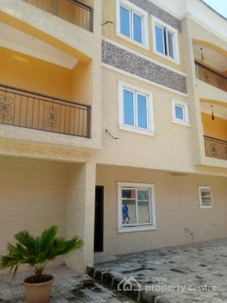 Newly Built 4 Bedroom Terrace Duplex with a Room Bq, Inside Westend Estate, Off Lekki County Homes, Ikota Villa Estate, Lekki, Lagos, Terraced Duplex for Rent