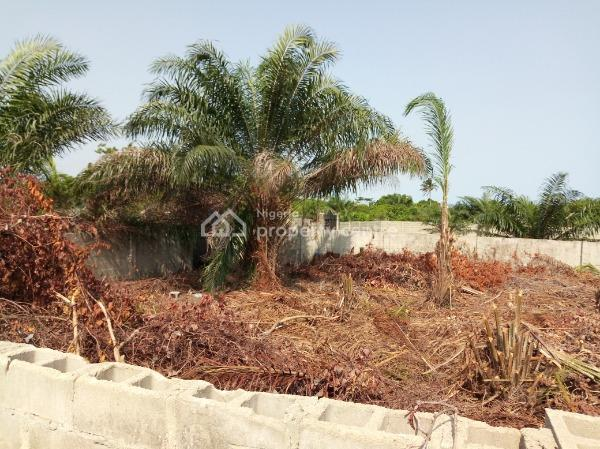 2 Plots of Land Fenced with Gate, Ogombo, Ajah, Lagos, Residential Land for Sale
