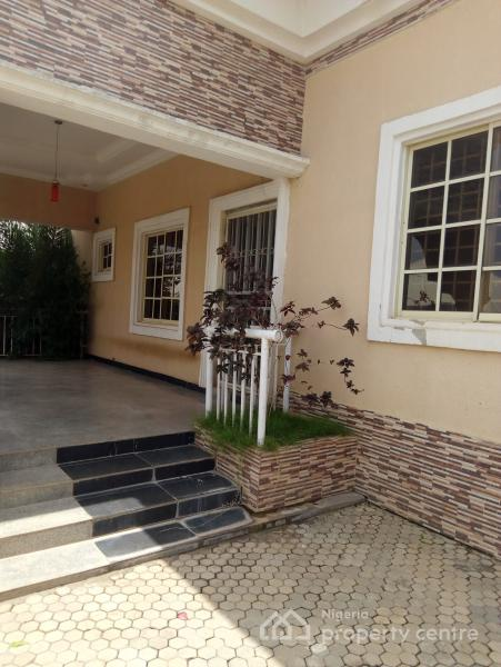 4 Bedroom Bungalow with Bq, Life Camp, Gwarinpa, Abuja, Detached Bungalow for Rent