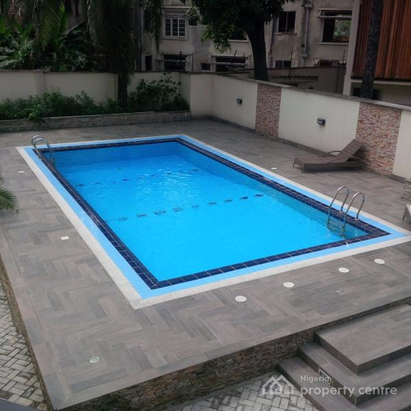 Fully Furnished Three Bedroom Flat with One Room Servant Quarters, Off Gerrard Road / Glover Road, Old Ikoyi, Ikoyi, Lagos, Flat for Rent