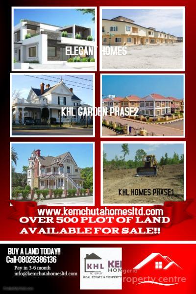 Eti Property Development : For sale land oko oba egan alapa village okun mopon