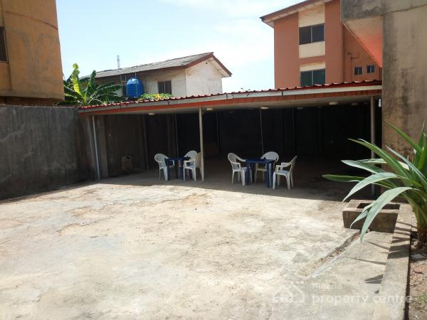 13 Rooms Functional Hotel with Hall, Cctv Cameras, Ample Parking Space, Etc on 2 Plots of Land, Off Ago Palace Way, By Cele Bus Stop, Okota, Isolo, Lagos, Hotel / Guest House for Sale