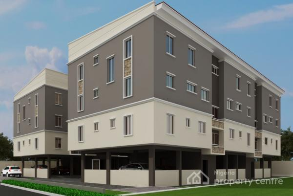 3 Units of Luxury 4 Bedroom Maisonettes with 3 Years Installment Plan. at Oral Estate, By Chevron, Thames Court, Oral Estate, By Chevron Toll Gate, Lekki Expressway, Lekki, Lagos, Terraced Duplex for Sale