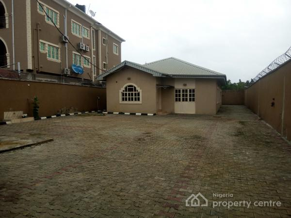 3 Bedroom Bungalow, Alone in Compound, Salvation Estate, Owode Bus Stop, Ado, Ajah, Lagos, Detached Bungalow for Rent