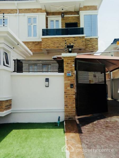 Four Bedroom Semi Detached House with Bq, Oral Estate, Lekki, Lagos, Semi-detached Duplex for Rent