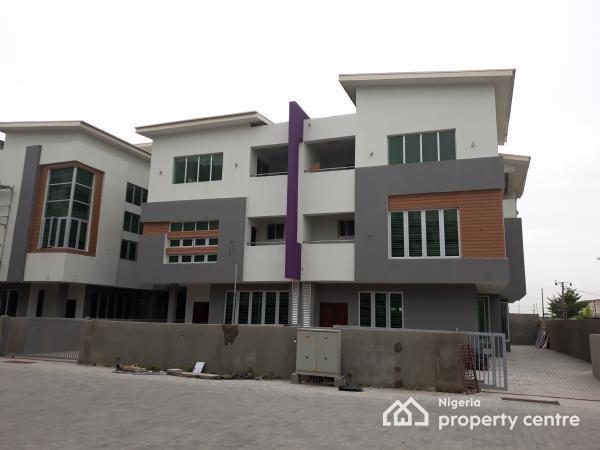 Brand New 4 Bedroom Maisonette, Richmond Estate, Before Oand Petrol Station, Off Lekki Expressway, Lekki Phase 1, Lekki, Lagos, Terraced Duplex for Rent