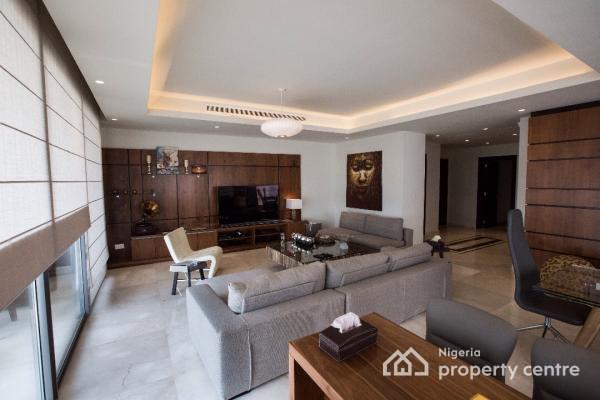 Luxury 2 Bedroom + Maids Quarters, Black Pearl, Eko Atlantic City, Lagos, Flat for Rent