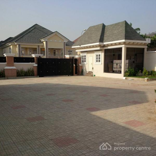Luxury 7 Bedrooms Detached Duplex with Pent House, 2 Bedrooms Guest Chalets, 2 Rooms Bq, Swimming Pool, Generator Set., Off Ibb Boulevard, Maitama District, Abuja, Detached Duplex for Rent