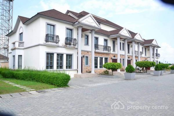 4 Bedroom Luxury Terrace Duplex + a Room Bq, Furnished  with Top Notch Quality Fittings with a 24/7 Power and Water, Private Gym ., Emperor Estate, Sangotedo, Ajah, Lagos, Semi-detached Duplex Short Let
