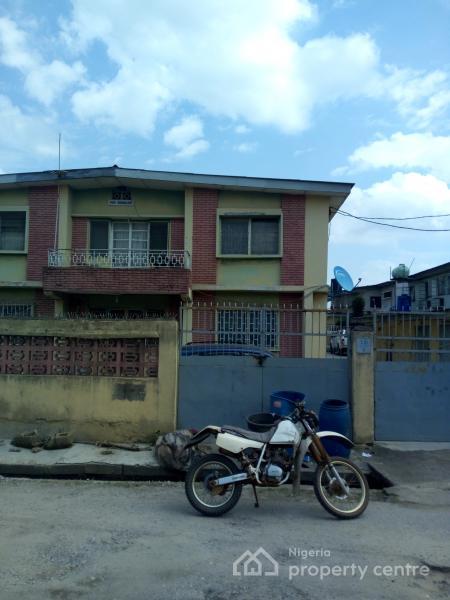 Block of 4 Nos 3 Bedroom Flat with Bq, Off Ajao Road, Adeniyi Jones, Ikeja, Lagos, Flat for Sale