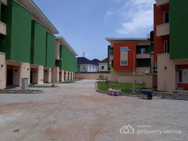 4 Bedroom Terrace Town House, Angel Court Estate, Agungi, Lekki, Lagos, House for Rent