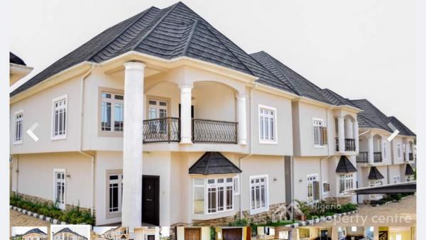 4 Units of 4 Bedroom Terrace Duplex, Swimming Pool and Bq in a Mini Estate, Selling All Together, Asokoro District, Abuja, Terraced Duplex for Sale