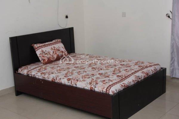 Bedroom in a Three Bed Flat (c)- Available Daily, 53 Agungi Ajiran Road, Agungi, Lekki, Lagos, Flat Short Let