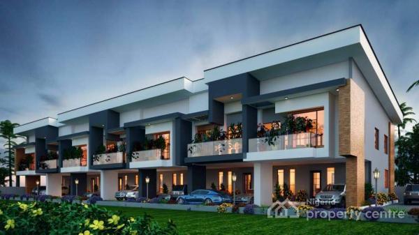 24/7 Serviced 4-bedroom Terrace Duplex, Chevron Toll Gate, Chevy View Estate, Lekki Expressway, Lekki, Lagos, Terraced Duplex for Sale