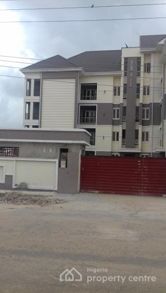 for rent: a luxury serviced 2 bedroom flat with a room boys quarters