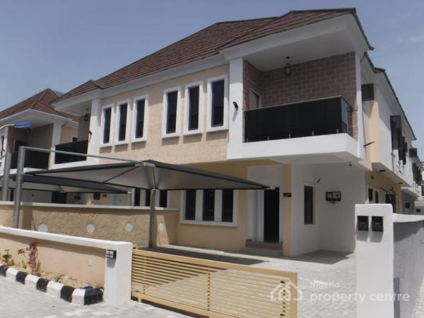 Brand New 4 Bedroom Semi Detached Duplex, Lafiaji, Lekki, Lagos, Semi-detached Duplex for Sale