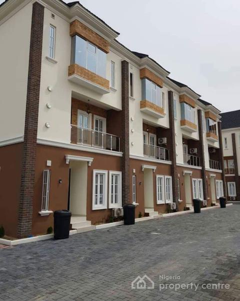Newly Built 4 Bedroom En Suite Terrace Houses Each with Maids Room, Fitted Kitchen Etc, Oniru, Victoria Island (vi), Lagos, Terraced Duplex for Sale