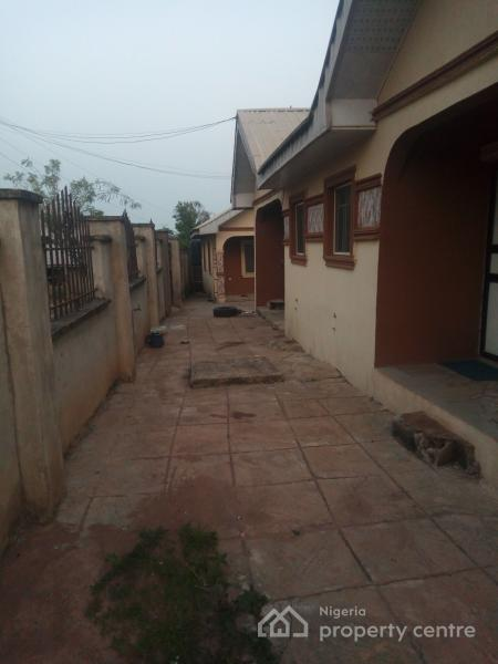 Two Bedrooms Flat with Two Units of Semi Detached Room and Parlour Self Contained, Orita Obele/ Oke Odu Axis, Akure, Ondo, Semi-detached Bungalow for Sale