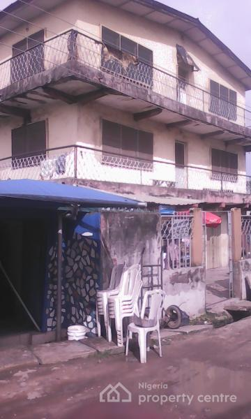 Solid 2 Storey Building Consisting of 6 Flats Suitable for Hotel Or Hospital, Bola Street, Opp Total Petrol Station, Lawanson, Surulere, Lagos, Block of Flats for Sale