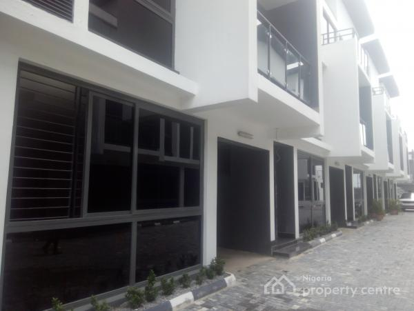 Luxury 5 Bedroom Terrace Duplex, Lekki Phase 1, Lekki, Lagos, Terraced Duplex for Rent