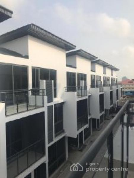 Lovely Serviced 5 Bedroom Terrace Duplex with a Room Bq in a Fully Serviced Estate, Lekki Phase 1, Lekki, Lagos, House for Sale