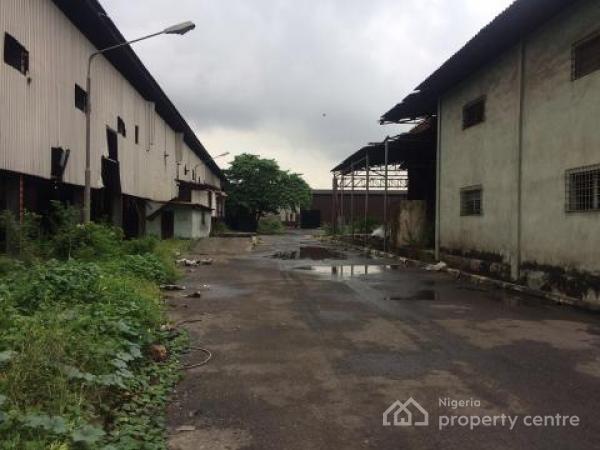 Land Measuring 100,000sqms, Off Surulere Avenue, Ogba Industrial Area, Ikeja, Lagos. #10bn, Ogba Industrial Area, Ikeja,, Ogba, Ikeja, Lagos, Warehouse for Sale