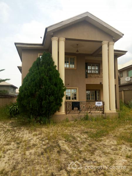 Distress Sale of Massively Built 6 Bedroom Duplex, Aina Ajayi Estate, Ekoro, Abule Egba, Agege, Lagos, Detached Duplex for Sale