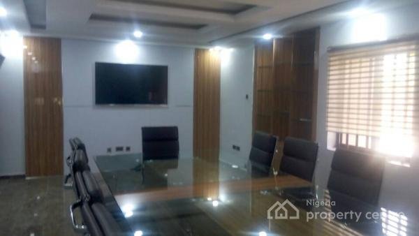 Ambassadorial 5 Bedroom Mansion Furnished & Fully Serviced with Maids Quarters, Off Aminu Kano Crescent, Wuse 2, Abuja, Detached Duplex for Rent
