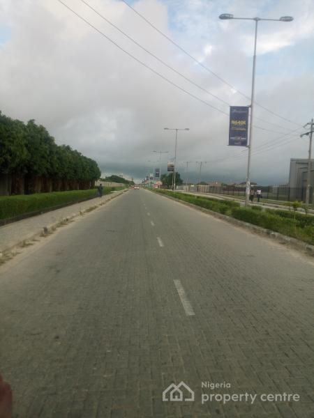 Six Plots of Fenced & Gated Land. Title: Governors Consent, Monastery Road,  Behind New Shoprite, Sangotedo, Ajah, Lagos, Mixed-use Land for Sale
