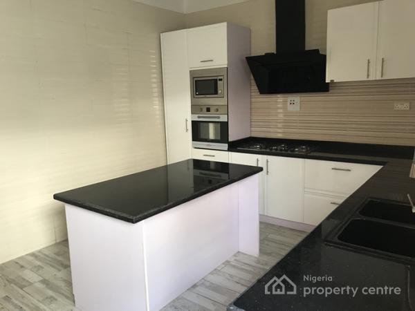 4 Bedroom Semi Detach Duplex with a Bq, Osapa, Lekki, Lagos, Semi-detached Duplex for Sale