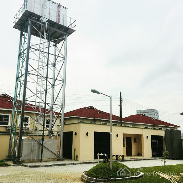 a Contemporary  Classic Newly  Built 4 Bedroom Terrace Duplex with Excellent Finishing, Osapa, Lekki, Lagos, Terraced Duplex for Sale