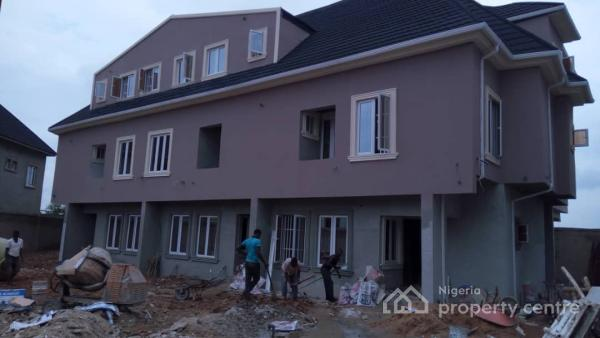 4 Units of 4 Bedroom Terrace Houses, Brook Estate, Phase 2, Shangisha, Magodo, Lagos, Terraced Duplex for Sale