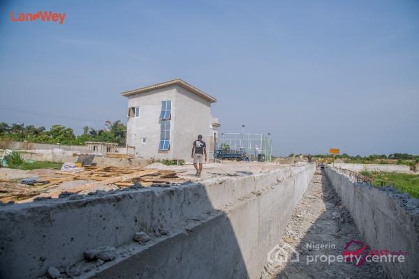 Dry Land and Fenced, East Amber Estate, Abijo Gra, Abijo, Lekki, Lagos, Residential Land for Sale