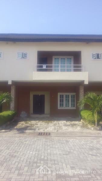 3  Bedroom Duplex [carcass], Lekki Gardens Estate, Ajah, Lagos, Terraced Duplex for Sale