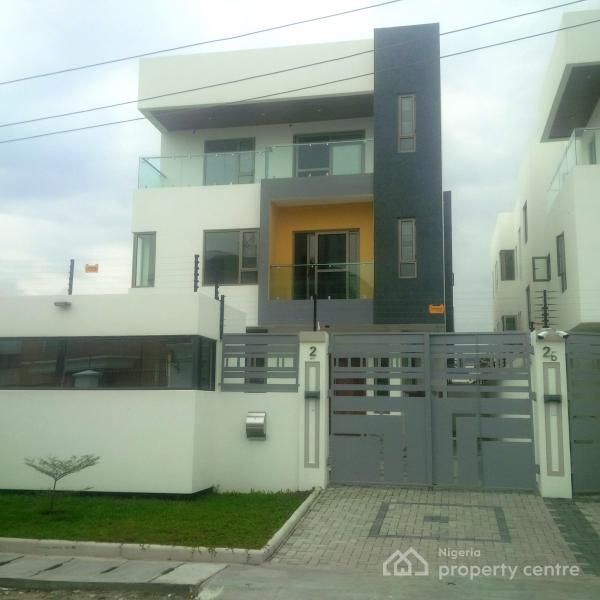 Luxury New and Superbly Built Duplex Tastefully Finished with Bq, Lekki Phase 1, Lekki, Lagos, Semi-detached Duplex for Sale